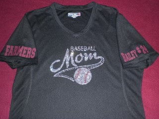 LHS FARMER MOM BLING SHIRT (Bling1)
