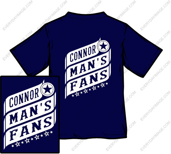 CONNOR MAN'S FANS SHIRT