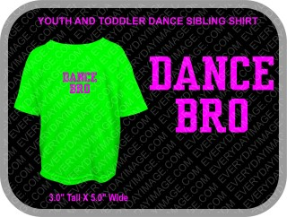 DANCE SIBLING ONE COLOR SHIRT