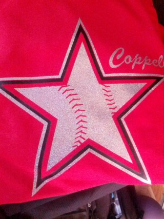 COPPELL COWBOYS FOIL STAR
