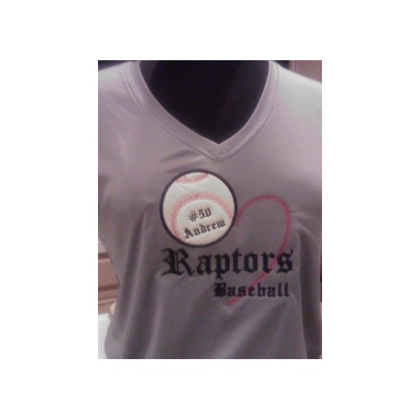 LOVE BASEBALL APPLIQUE SHIRT