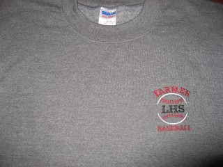 LHS EMBROIDERED FLEECE CREW