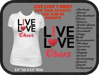 LIVE LOVE TSHIRT