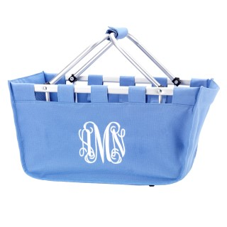 MARKET TOTE BABY BLUE