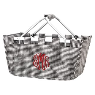 MARKET TOTE HOUNDSTOOTH