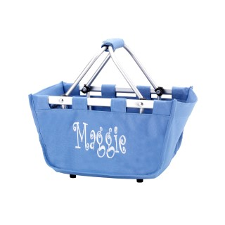 BABY BLUE MARKET TOTE MINI