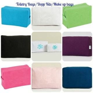 TOILETRY BAG/MAKE UP BAG/DOPP KIT