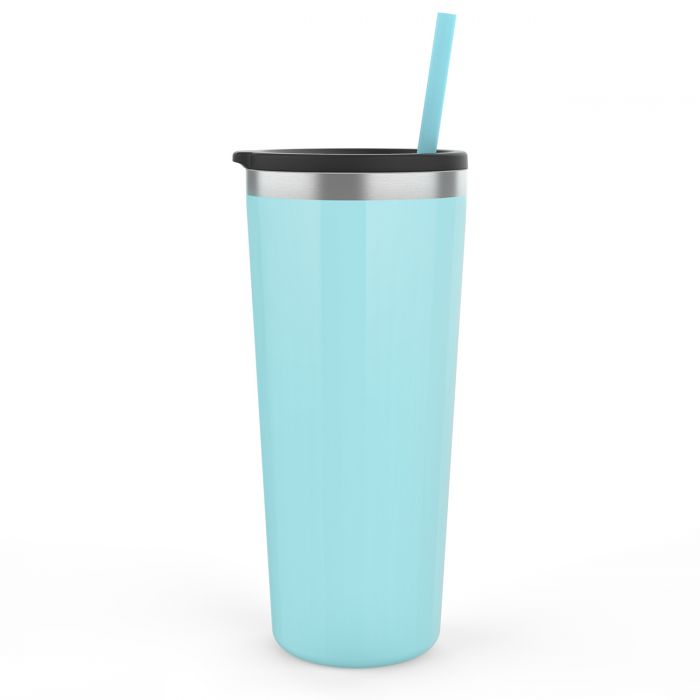 SEAFOAM PERSONALIZED TRAVEL TUMBLER