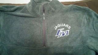 TEAM QUARTER ZIP FLEECE PULLOVER
