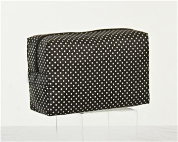 "Polka Dotty ""Classic Large Cosmetic/Travel Bag"""