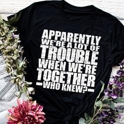 TROUBLE TOGETHER SHIRT
