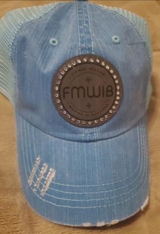 FMWIB LEATHER PATCH CAP
