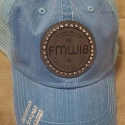 FMWIB LEATHER PATCH CAP