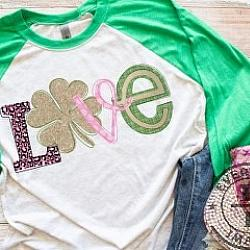ST PATRICK'S DAY LOVE SHIRT