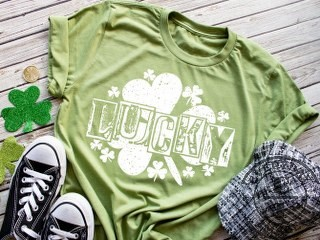 ST PATRICK'S DAY   LUCKY SHIRT