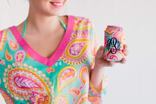 SUMMER PAISLEY COOZIE WRAP
