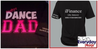 DANCE DAD 2 SIDED SHIRT