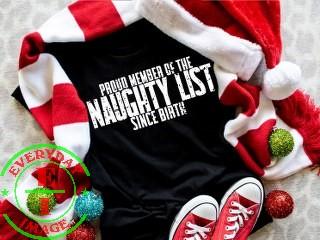 Naughty Club Member Tshirt