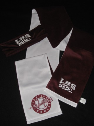 LHS SCARF AND HEADBAND SET