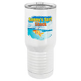 20 oz. Tall White Vacuum Insulated Tumbler Full color customization