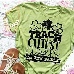 TEACHER ST PATRICK'S DAY SHIRT