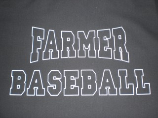 W1 LHS OUTLINE FARMER BASEBALL