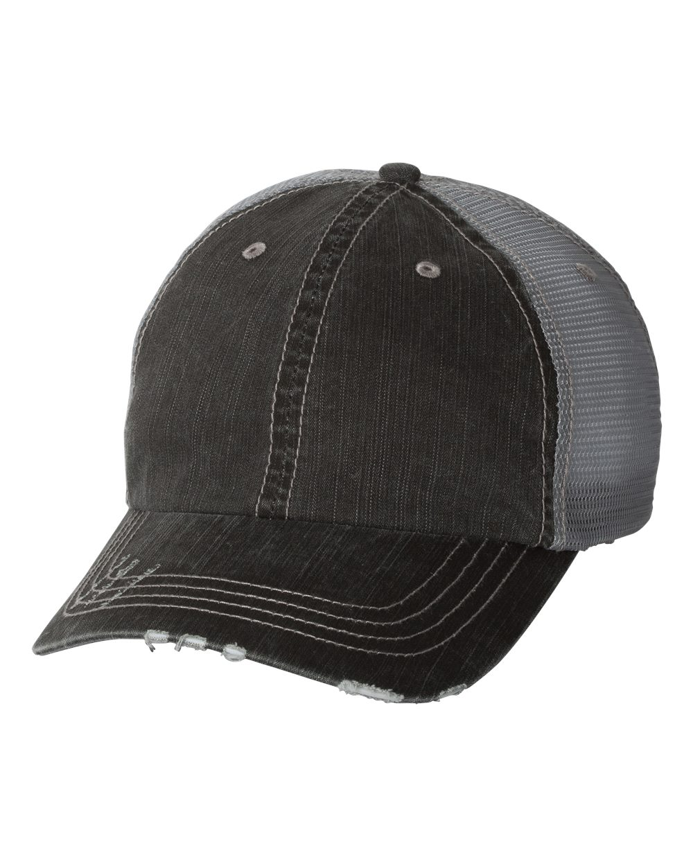 CHARCOAL GREY TRUCKER HAT FMWIB