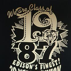 EHS 30 YEAR REUNION SHIRT