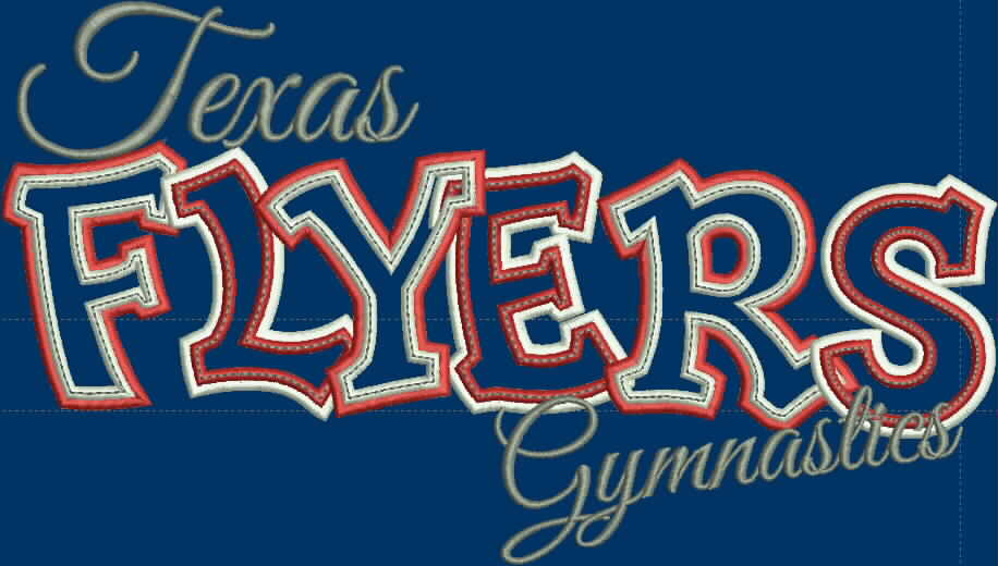 TEXAS FLYERS GYMNASTIC SHIRT