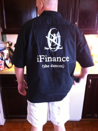 DANCE DAD BOWLING SHIRT