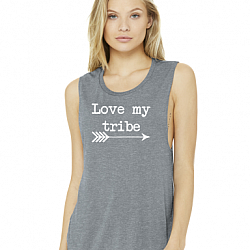 LOVE MY TRIBE MUSCLE TANK