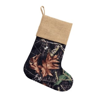 BURLAP STOCKING