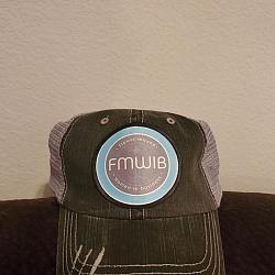 FMWIB FULL COLOR PATCH ON TRUCKER CAP