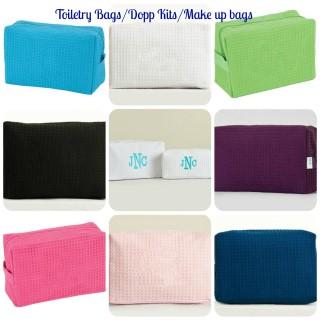 TOILETRY BAG/MAKE UP BAG/DOPP KIT